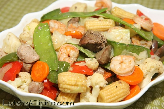 Chop suey recipe filipino recipes from lutong filipino chop suey forumfinder Images