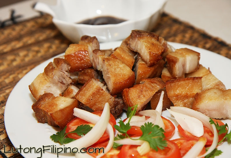 Lechon Kawali Recipe Filipino Recipes From Lutong Filipino