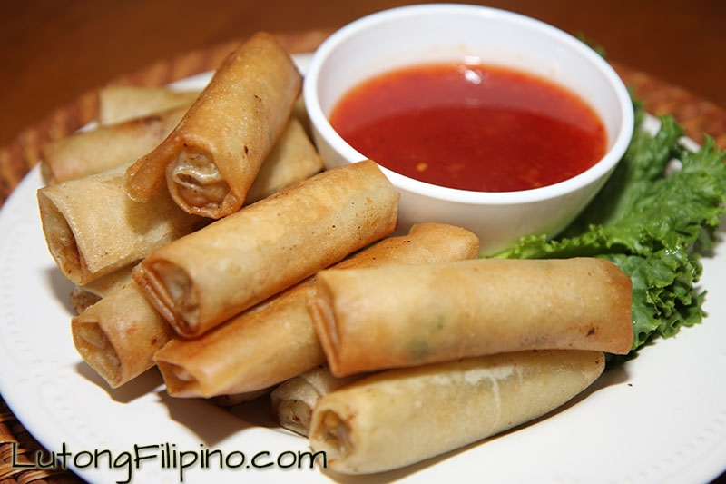 Lumpia Recipe - Filipino Recipes from Lutong Filipino